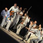 Spettacolo di teatro musicale in teatro di strada a Costa di Mezzate (BG)2012