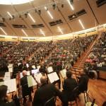 Con l'Orchestra Rossini di Pesaro diretta dal M°Taddia