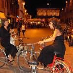 Al recital del coro A.Galli in bicicletta.Ricordando Rimini