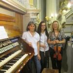 Rimini 1 agosto 2014 Concerto in Santa Maria in Corte