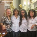 Margherita Ceccarelli violino, Annalisa Lotti organo, Euridice Pezzotta flauto, Donatella Lotti organo