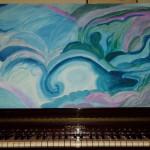 Onde di cielo-nuvole di mare (Acrilico su tela Donatella 2013)