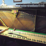 Restauro del pianoforte nel suo 45esimo anno di vita